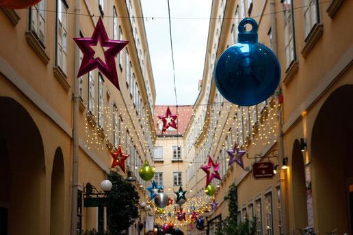 Sünnhof-Passagen Wien, Weihnachten in Wien