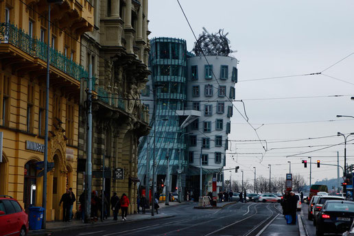 The Dancing House of Prague, the weirdest architecture in the world