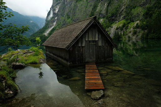 Obersee and Königssee in Bavaria, magic places of Germany, visit Germany