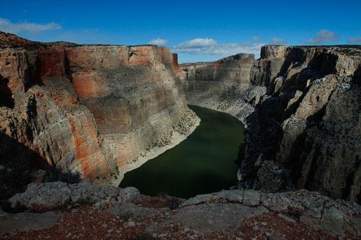 Bighorn Canyon, Wanderung