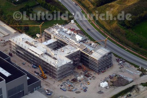 Noch eine große Baustelle - Enercon in Sandhorst...