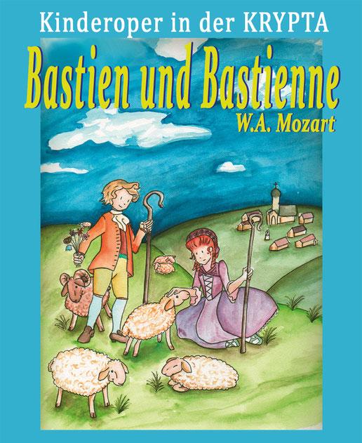 Bastien und Bastienne, Kinderoper in der KRYPTA