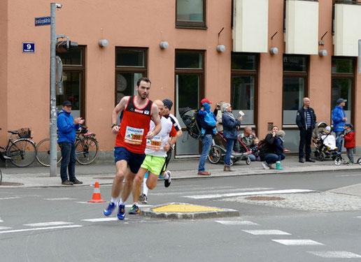 Philipp Meixner beim Salzburg Marathon 2017 (Foto zVg)