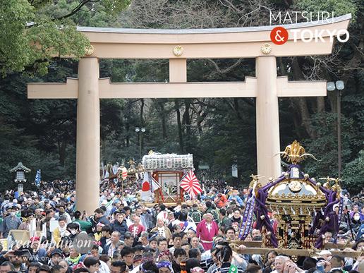 建国祭(紀元祭)奉祝 神輿パレード @2017.02.11