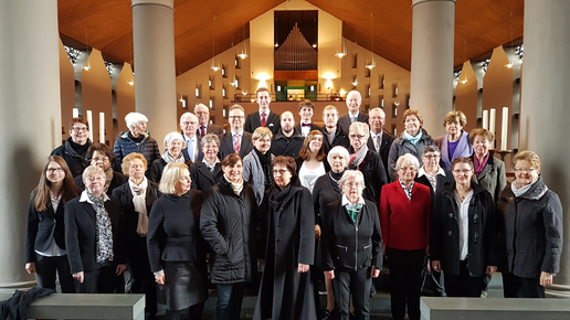 Kirchenchor Cantamus St. Anna Ostern 2018 in St. Bartholomäus