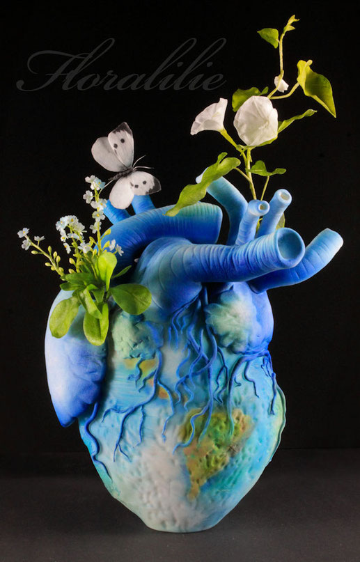 Our Earth | Our Heart | Floralilie Sugar Art