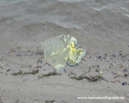 Plastikmüll im Meer, Plastivermeidung, Plastik reduzieren, Plastik vermeiden, Verschmutzung der Meere