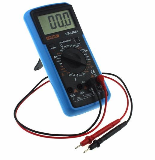 multimetro digital guatemala, multimetro, dt9205, guatemala, electronica, electronico, herramienta, capacitancia, para medir capacitores, capacitor, medir, medidor