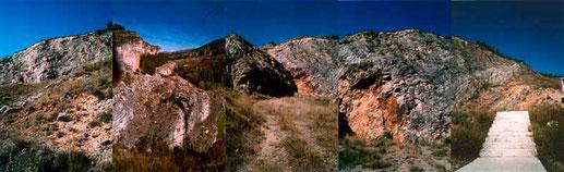 eine kleine Berglandschaft
