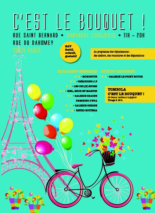 rendez vous festif, créatif, gustatif - Paris 11 rue Saint Bernard