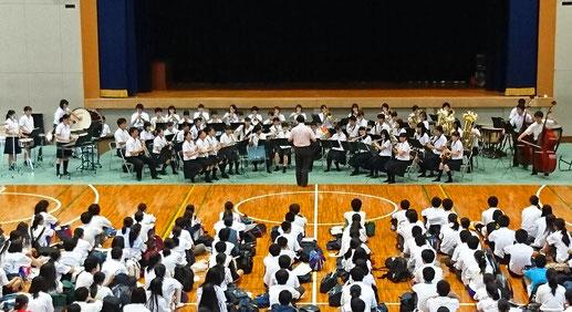 オープンキャンパス歓迎演奏