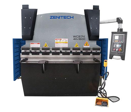 Гидравлический гибочный пресс ZENITECH WC67K-40T/1600