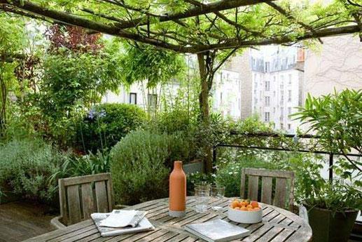 Création et réalisation terrasse et balcon à Aix-en-Provence