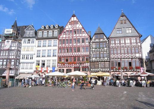 フランクフルト旧市街の建物