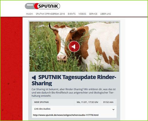 Mein BioRind | MDR Sputnik