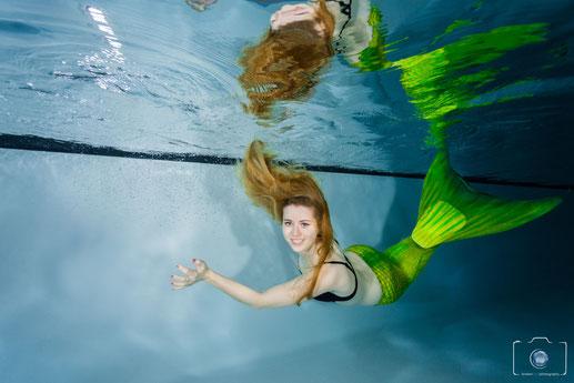 Bild: Meerjungrauenschwimmen in Hamburg Mermaiding