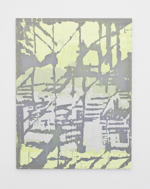AS_ / 2020 / Gips / Vinyl / Lack / Polyester / 130 x 100 cm