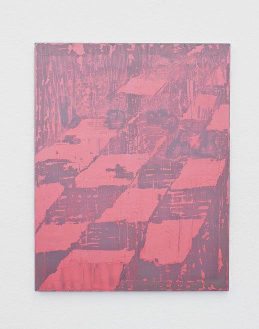 O.T. / 2020 / Gips / Vinyl / Lack / Polyester / 95 x 75 cm