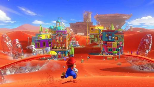 Nintendo Switch Spiel: Super Mario Odyssey