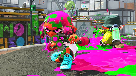 Nintendo Switch Spiel: Splatoon 2