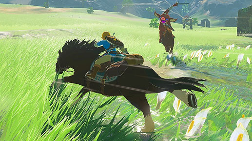 Nintendo Switch Spiel: The Legend of Zelda: Breath of the Wild