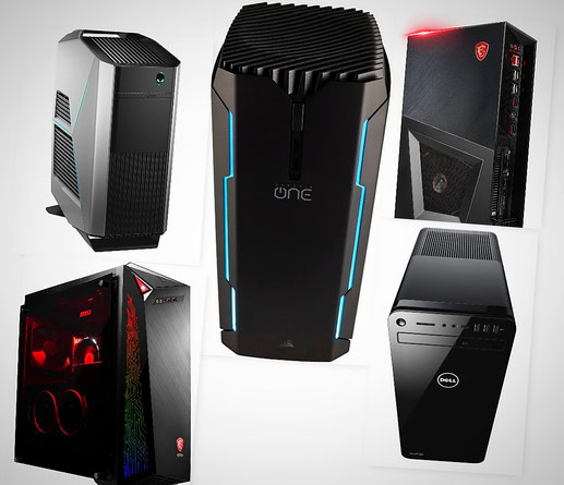 Gaming PC's:  Modelle