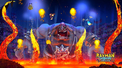 Nintendo Switch Spiel: Rayman Legends - Definitive Edition