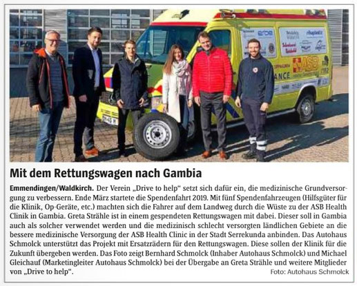 Presse drive to helps Webseite!