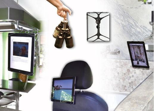 REALflex-STRAP PAD; Befestige Dein Smartphone wo DU willst!