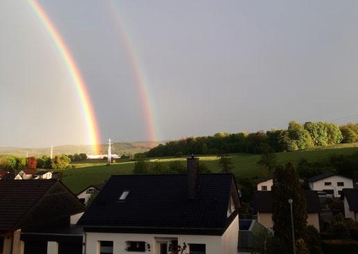 Regenbogen über Hemer