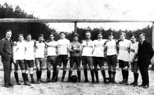 H. Günther, O. Ulrich, H. Rothaar, L. Haury, A. Vogelgesang, J. Sachs, L. Gartenhof, H. Hamm, L. Bieber, H. Glosky, W. Ott, A. Serr