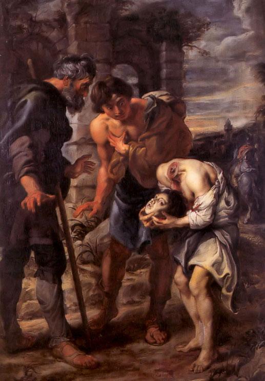 Le miracle de Saint Justus (Peter Paul Rubens - 1640, Musée des Beaux Arts de Bordeaux)
