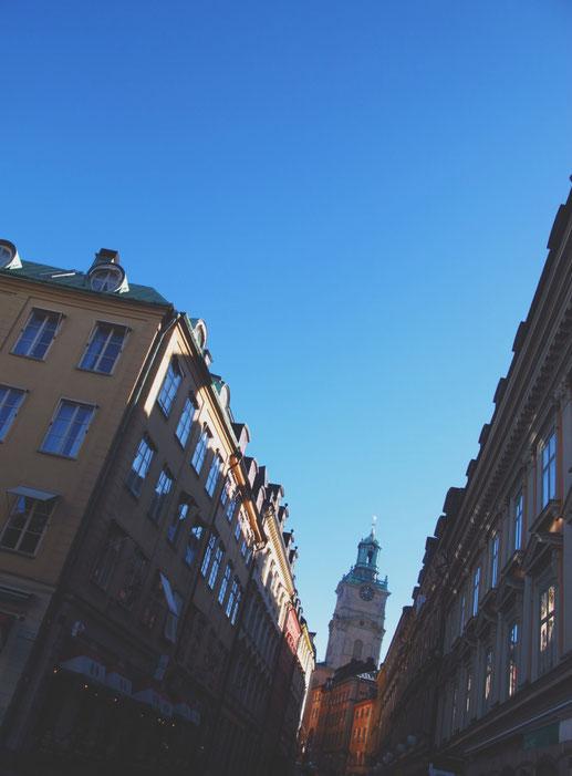 stockholm centre ville rue bigousteppes suède