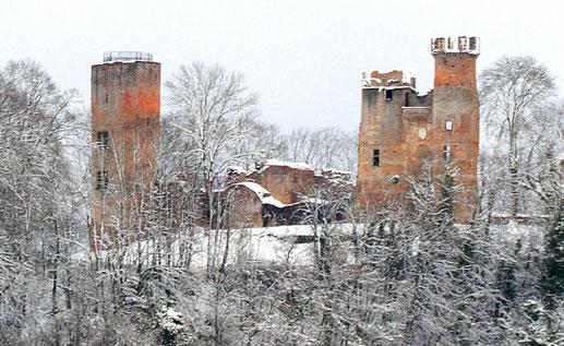 Château de Bressieux XIIIe siècle