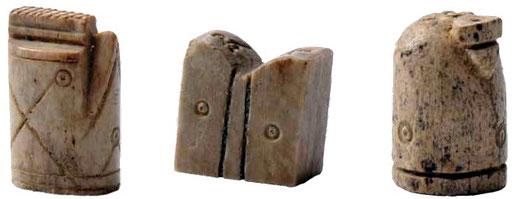 Pièces de jeu d'échecs Musée de Bressieux