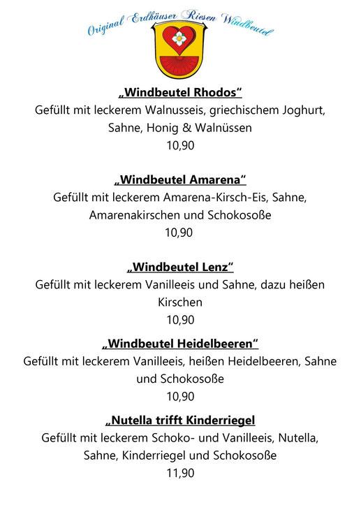 Riesenwindbeutel, Gladenbach, Restaurant, Restaurant in Gladenbach, Cafe in Gladenbach, Erdbeeren, Künstlerhaus Lenz, Restaurant Künstlerhaus Lenz