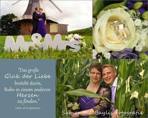 Hochzeit Trauung Samantha Baylis Fotografie Stade Himmelpforten Mühle Amanda