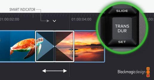 DaVinci Resolve, Speed Editor, edición de video, cortando, premier pro