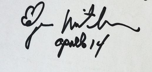 Autograph Edgar Mitchell Autogramm