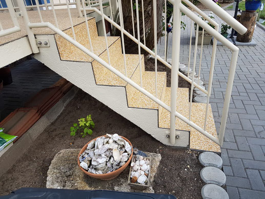 Steinteppich Treppen Fachverleger