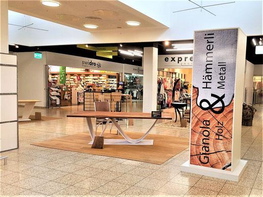 Ausstellung von 2019, in der Mall von Sunnemärt Bremgarten