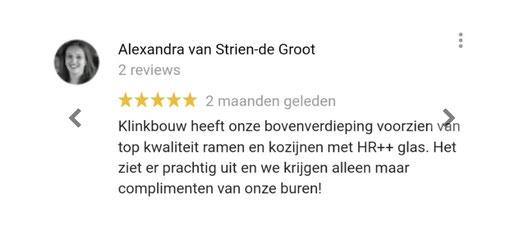 Reviews en beoordelingen bouwbedrijf aannemer glaszetter en schilder in Leiden