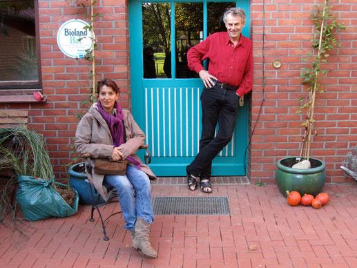 Ihre Gastgeber: Wilfried und Brigitte Denker