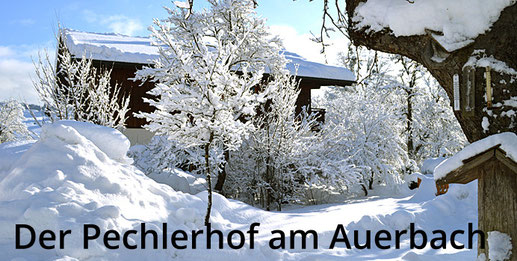 Der Pechlerhof Oberaudorf im Winter