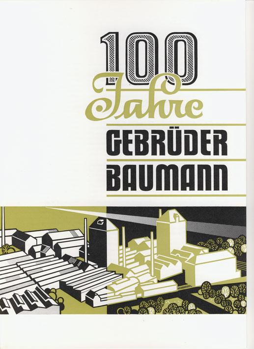 1974 Festschrift zur 100-Feier der Firma