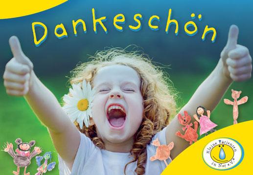 So können Sie Kindern helfen- Danke für Ihre Unterstützung - Kleine Patienten in Not e.V.