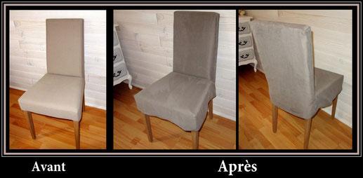 Autre modèle de housse de chaise
