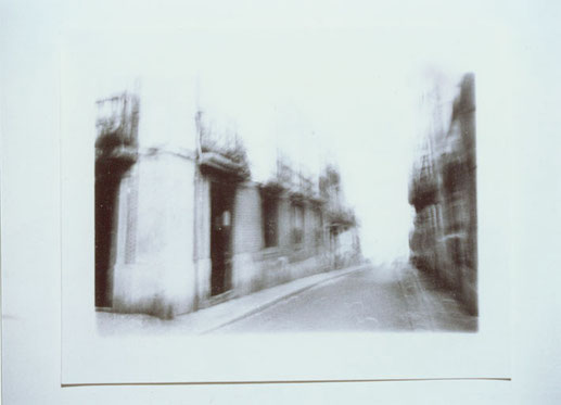 三歩の写真/photo of three steps   1996 silver print