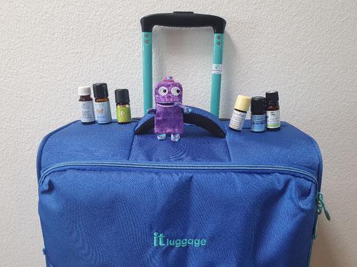 Veränderung; Koffer; Reise; Schulbeginn; ätherische Oele; Aromatherapie