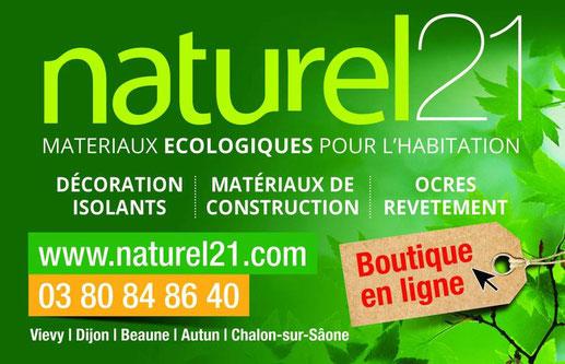 Matériaux écologique pour l'habitation en Bourgogne avec Naturel 21